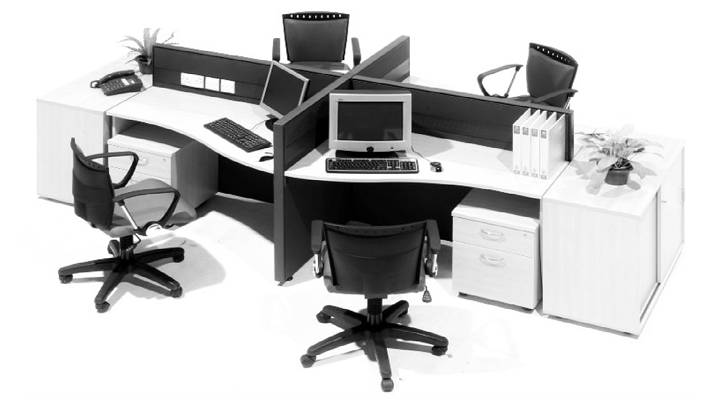 office furniture singapore office partition 28mm Office Cubicle 54 (2)