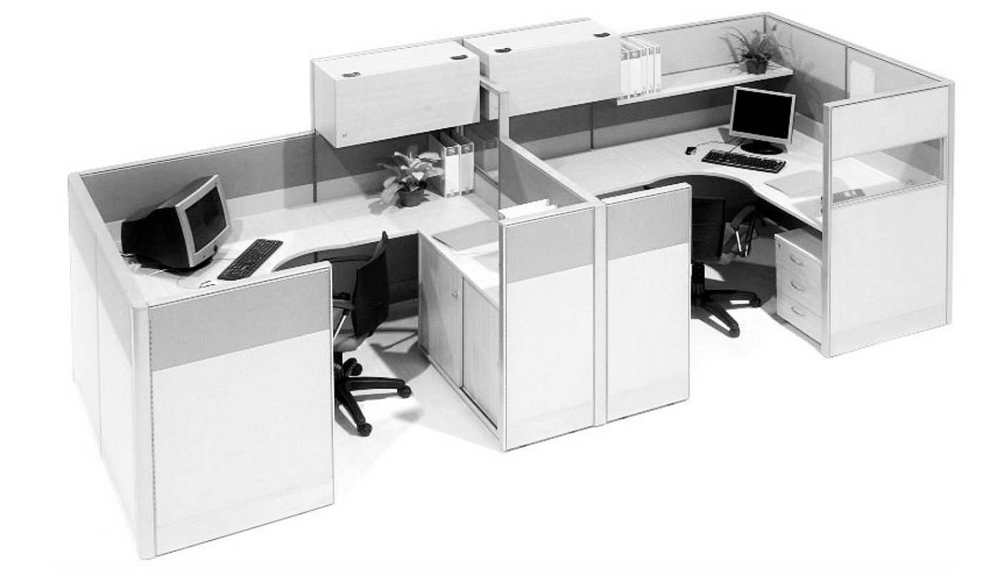 office furniture singapore office partition 28mm Office Cubicle 56 (2)