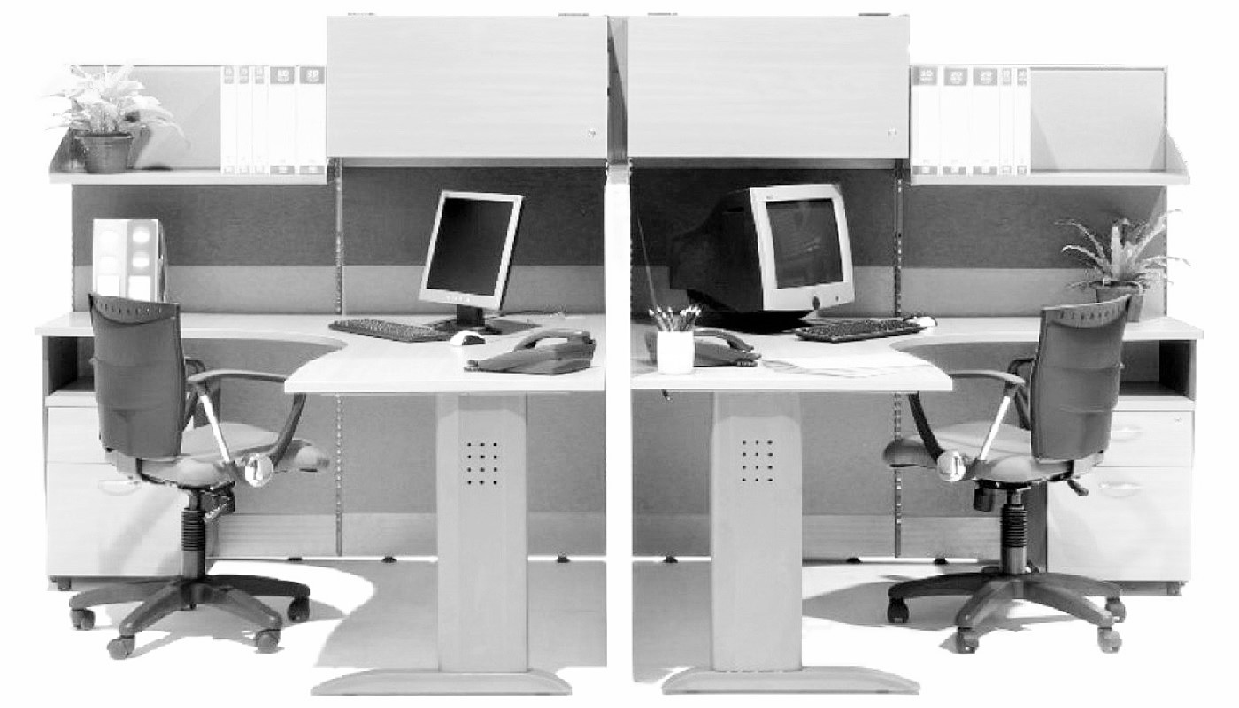office furniture singapore office partition 28mm Office Cubicle 58 (2)