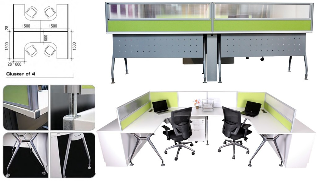 office furniture singapore office partition office cubicle 2