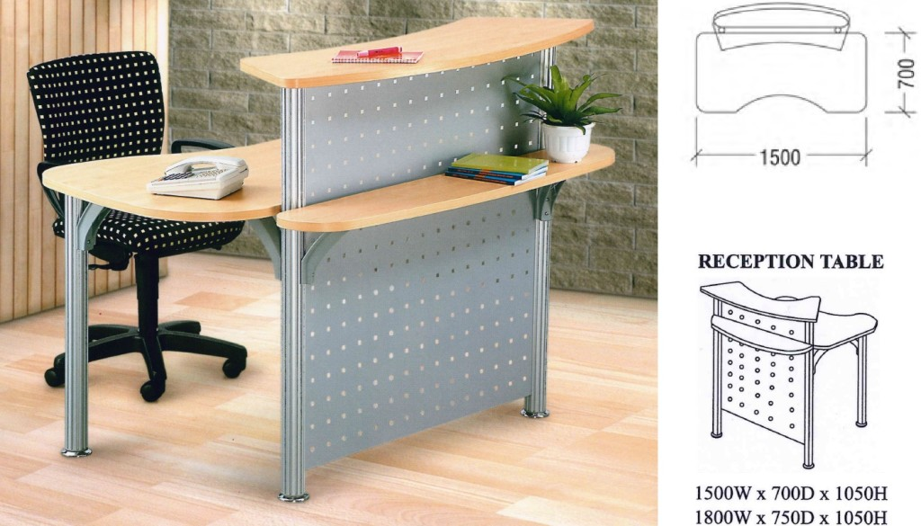 office furniture singapore office partition reception table singapore 2