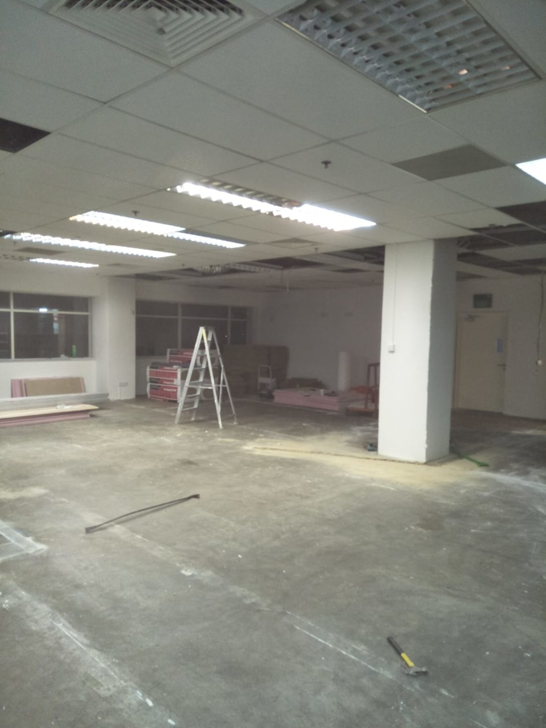 Office Dismantling Work Singapore