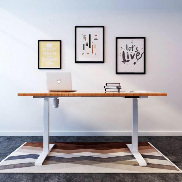 Single Motor adjustable height table height adjustable table office furniture