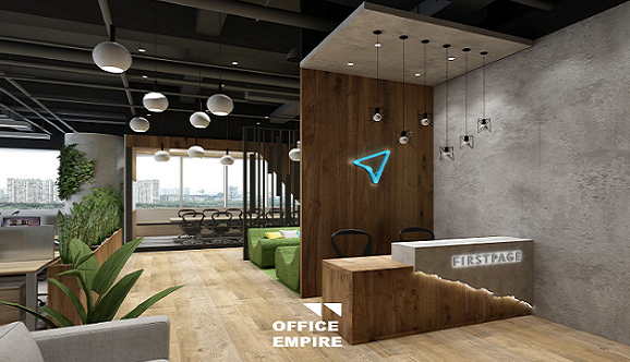 Office Renovation Singapore Office Furniture Office Reception Counter Table Desk Area