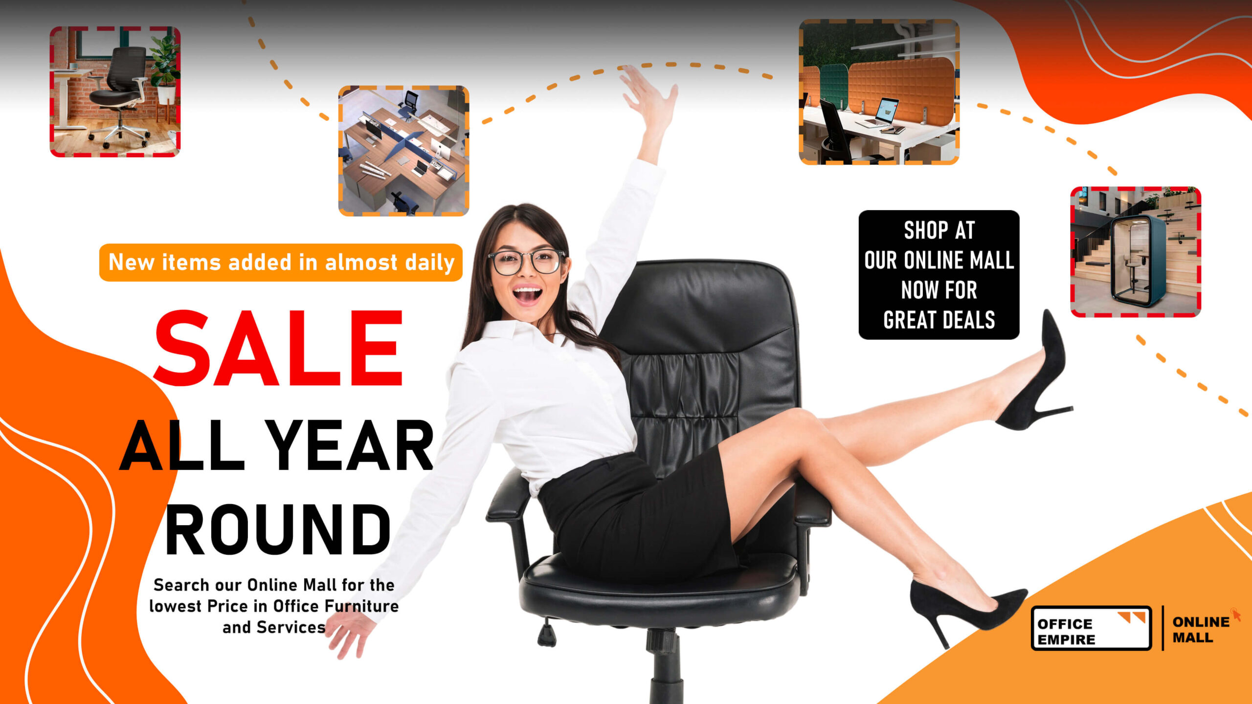 Office Empire Mall Promotion